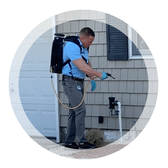 Exterminator Wayne NJ Brian DeVera Outdoor Spray